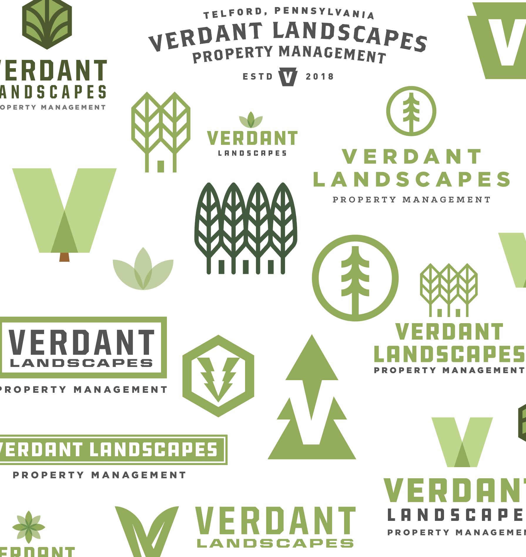 Verdant Logo Page